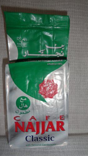 Кофе молотый Наджар (Najjar) классический (Classic) с кардамоном, 200гр