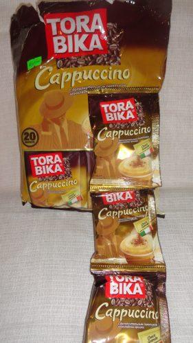 Капуччино Tora Bika (Тора Бика) с дополнительным пакетком шоколадной крошки, 25гр