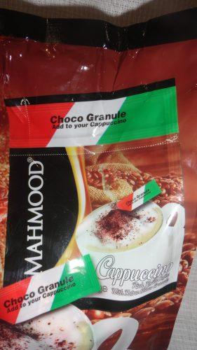 Капуччино Mahmood (Махмуд) с дополнительным пакетиком шоколадной крошки, 25гр