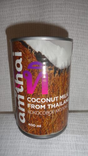 Кокосовое молоко Amthai, 400мл