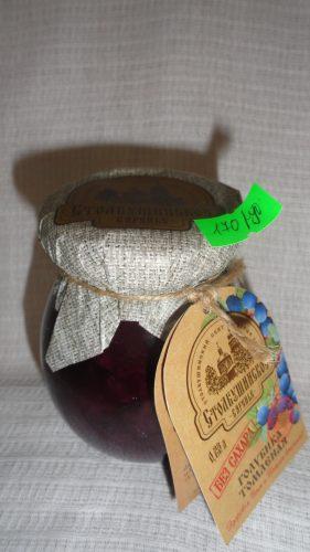 Варенье Столбушинское «Томленая голубика» без сахара, 230мл