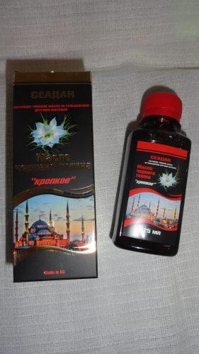 Масло черного тмина Seadan (Сеадан) крепкое, 125мл