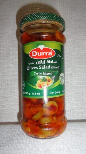 Салат из фаршированных оливок Durra (Дарра), 325гр