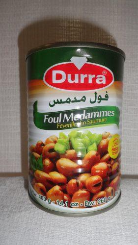 Бобы консервированные Durra (Дарра), 400гр