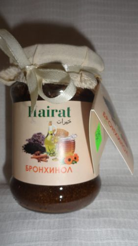 Мед с добавками Hairat (Хайрат) — Бронхинол