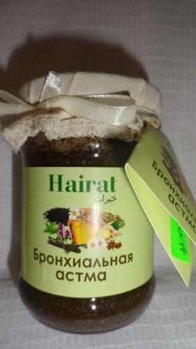 Мед с добавками Hairat (Хайрат) — Бронхиальная астма