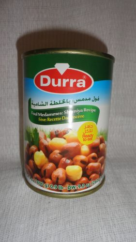 Бобы с нутом Durra (Дарра), 400гр