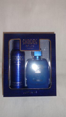 Миск-спрей (духи) + дезодорант Shades of life (Шейдс оф лайф), в асс.