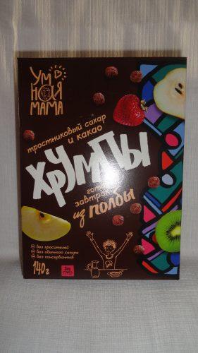 Хрумпы из полбы «Умная мама» с какао, 140гр