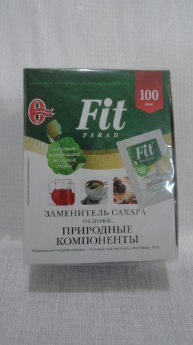 Заменитель сахара Fit Parad (Фит Парад) на основе природных компонентов, 100 саше