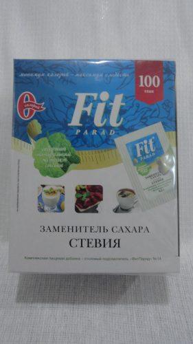 Заменитель сахара Fit Parad (Фит Парад) Стевия (№14), 100 саше