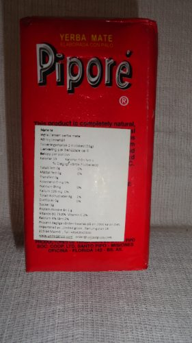 Чай матэ Pipore (Пипоре), 250гр