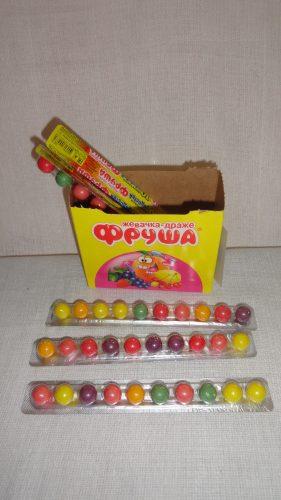 Жвачка-драже «Фруша» в ассортименте, 10шт. в упаковке