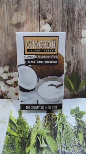 Кокосовые сливки Chaokoh (Шаокох), 250мл