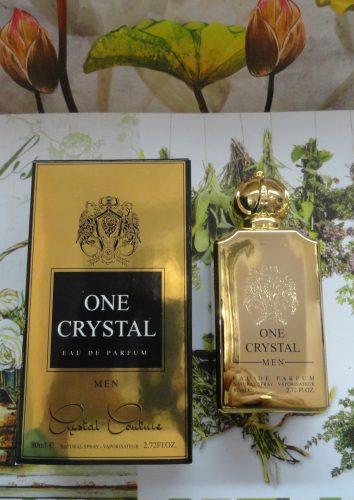 Миск (духи) One Crystal men (ван кристалл) мужские, 80мл