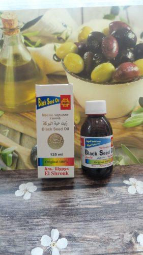 Масло черного тмина El Shrouk (Аль Шурук), 125мл