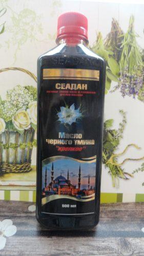 Масло черного тмина Seadan (Сеадан) крепкое, 0,5л