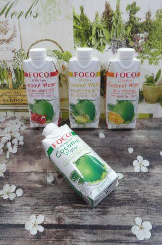 Кокосовая вода Foco (Фоко), 330мл, в ассортименте