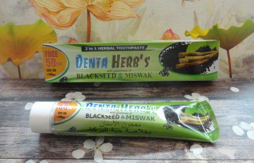 Зубная паста Denta Herb's (Дента хербс) 2 в 1, 170гр