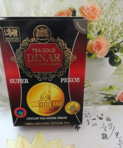 Чай Gold Dinar (Голд Динар) Super Pekoe (Супер Пеко) черный, 450гр