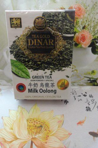 Чай Gold Dinar (Голд Динар) Молочный Улун, зеленый, 200гр