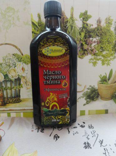 Масло черного тмина Amana (Амана) эфиопское, стекло, 0,5л