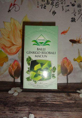 Паста Balli Ginkgo Bilobali macun — медовая с гинкго билоба для сосудов