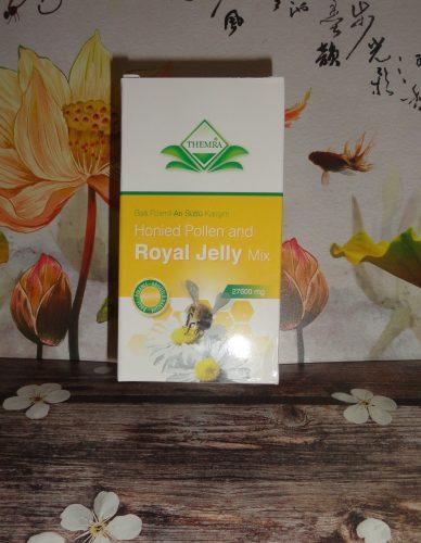 Паста Honeid Pollen & Royal Jelly mix macun — мед с маточным молочком и пыльцой, Themra