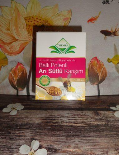 Паста Honeid Pollen & Royal Jelly mix macun (Balli polenli) — мед с маточным молочком и пыльцой, Themra