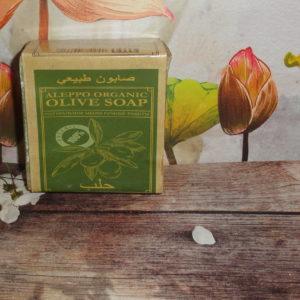 Мыло оливковое Aleppo organic (Алеппо органик), 150гр