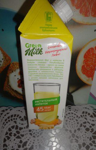 Растительный напиток на соевой основе Банан, 750мл