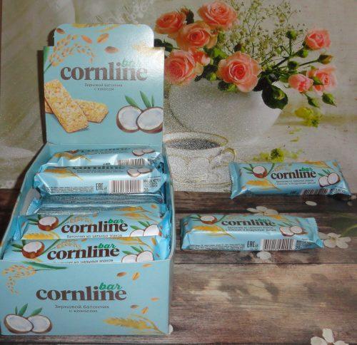 Зерновой батончик с кокосом Cornline (Корнлайн), 30гр