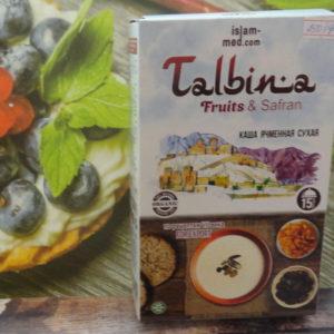 Каша ячменная Talbina  (Тальбина) — фрукты и шафран, 350гр