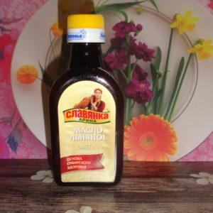 Масло льняное «Славянка Арина», 200мл/500мл