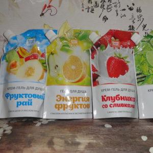 Крем-гель для душа Fresh Fruit (Фреш фрут), 200мл, в ассортименте