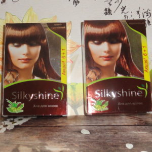 Краска на основе хны для волос Силки Шайн (Silky shine), 15гр