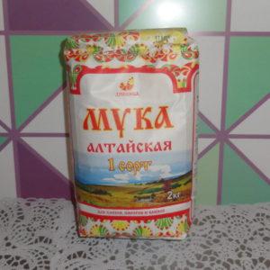 Мука Алтайская 1 сорт, 2кг