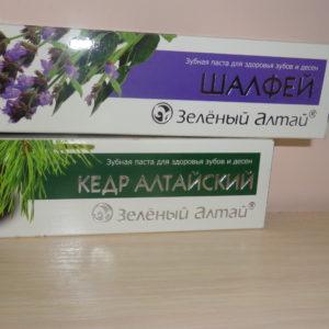 Зубная паста «Зеленый Алтай» в асс., 75гр