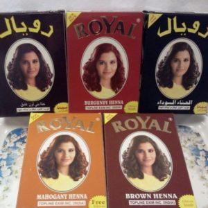 Хна для волос Royal (Роял), 10гр, в ассортименте