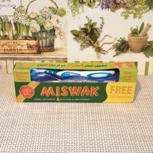 Зубная паста Мисвак Дабур (Miswak Dabur) + зубная щетка, 190гр