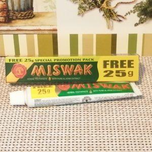 Зубная паста Dabur Miswak (Дабур Мисвак), 50гр +25гр