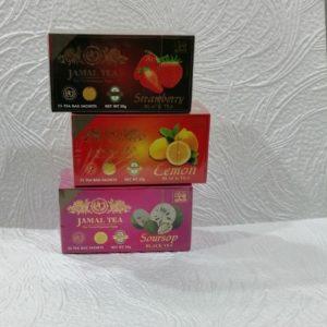 Чай Джамал (Jamal tea) фруктовый в ассортименте, 25пак.