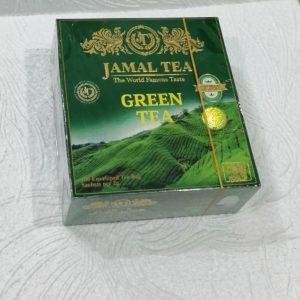 Чай Джамал (Jamal tea) зеленый, 100пак.