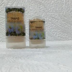Алунит — природный дезодорант Tawas (Тавас) с черным тмином, 60гр/120гр