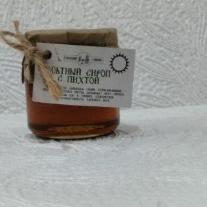 Мятный сироп с пихтой Таежный тайник, 200мл
