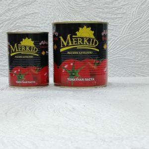 Томатная паста Merkid (Меркид), 350гр/800гр