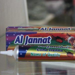 Хна для мехенди Аль-Джанат (Al-Jannat) черная и коричневая, 35гр