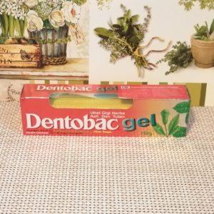 Зубная паста – гель Dentobac (Дентобак), 180гр, + зубная щетка
