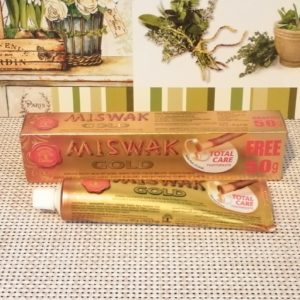 Зубная паста Miswak Gold (Мисвак Голд), 120гр+50гр