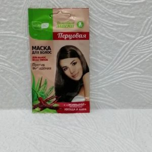 Маска для волос Natura лист (НатураЛист) домашняя – перцовая, 30мл, в асс.
